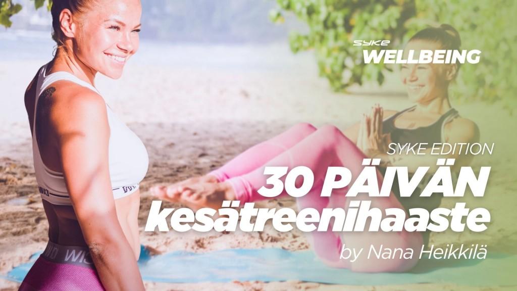 30 päivän kesätreenihaaste by Nana Heikkilä