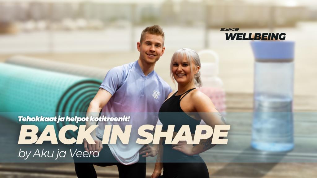 Back in shape by Aku ja Veera