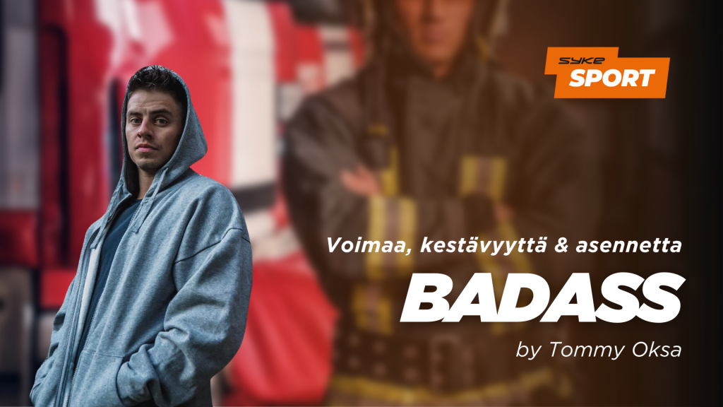 BADASS by Tommy Oksa
