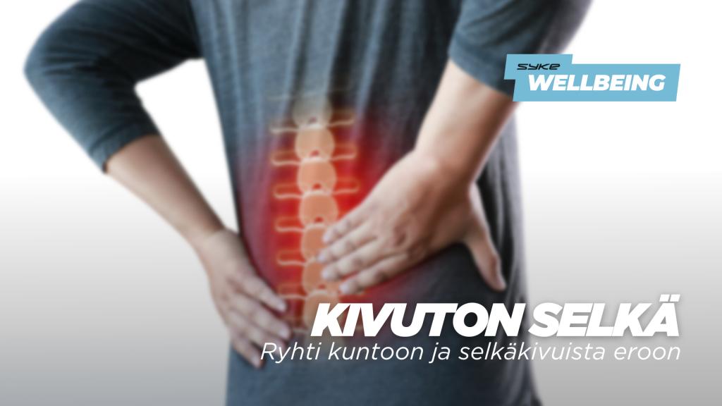 Kivuton selkä - Ryhti kuntoon ja selkäkivuista eroon