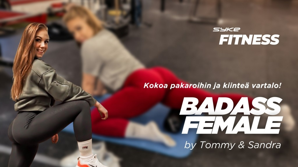 BADASS FEMALE by Tommy Oksa & Sandra Manner