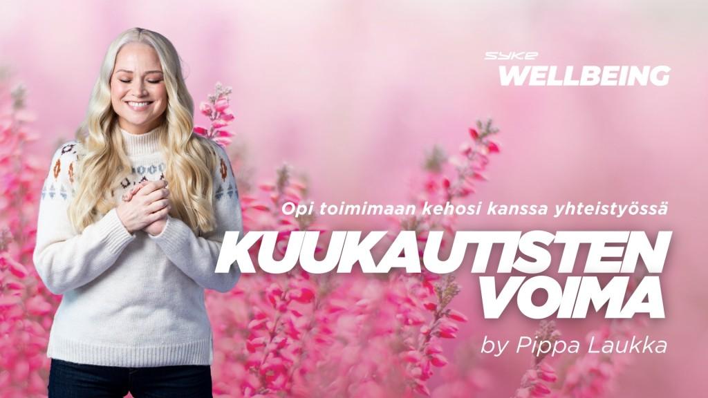 Kuukautisten voima by Pippa Laukka