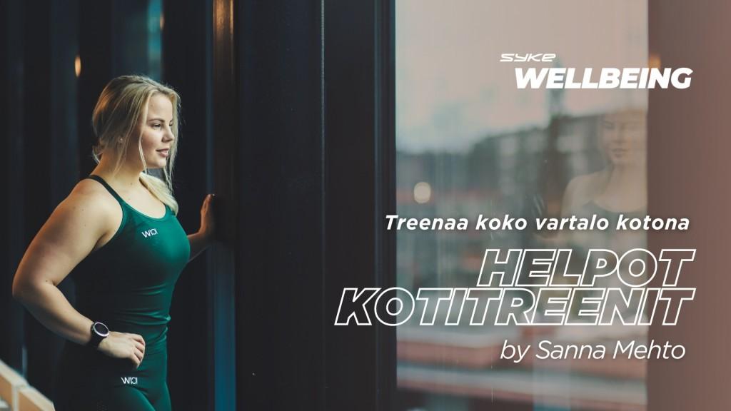 Helpot kotitreenit by Sanna Mehto