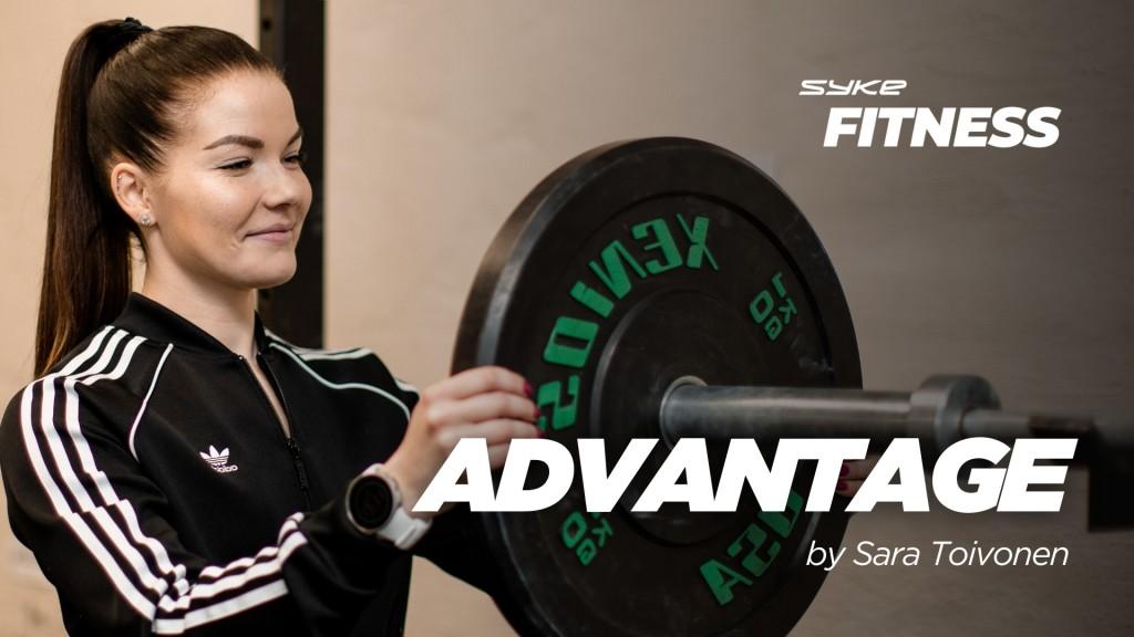 Advantage by Sara Toivonen