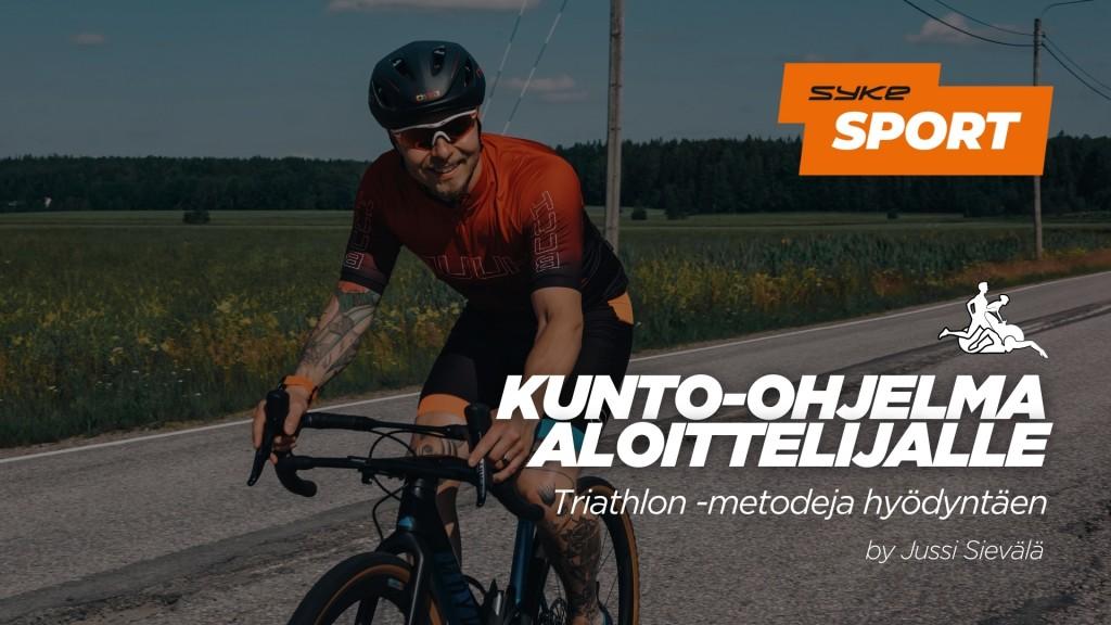 Kunto-ohjelma aloittelijalle | Triathlon -metodeja hyödyntäen