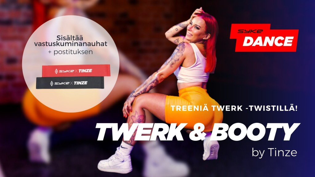 Twerk & Booty by Tinze + VASTUSKUMIT