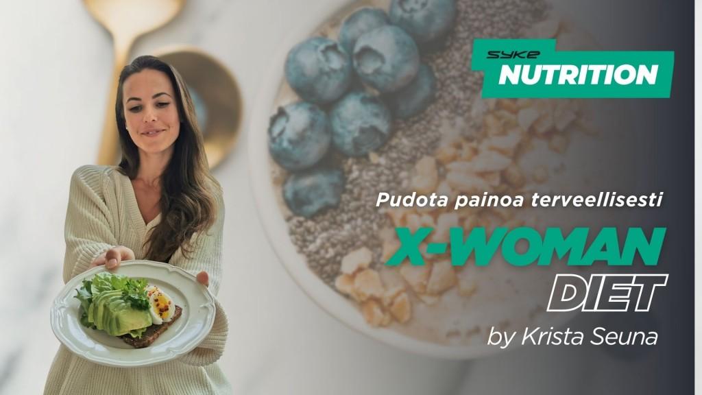 X-WOMAN Diet by Krista Seuna