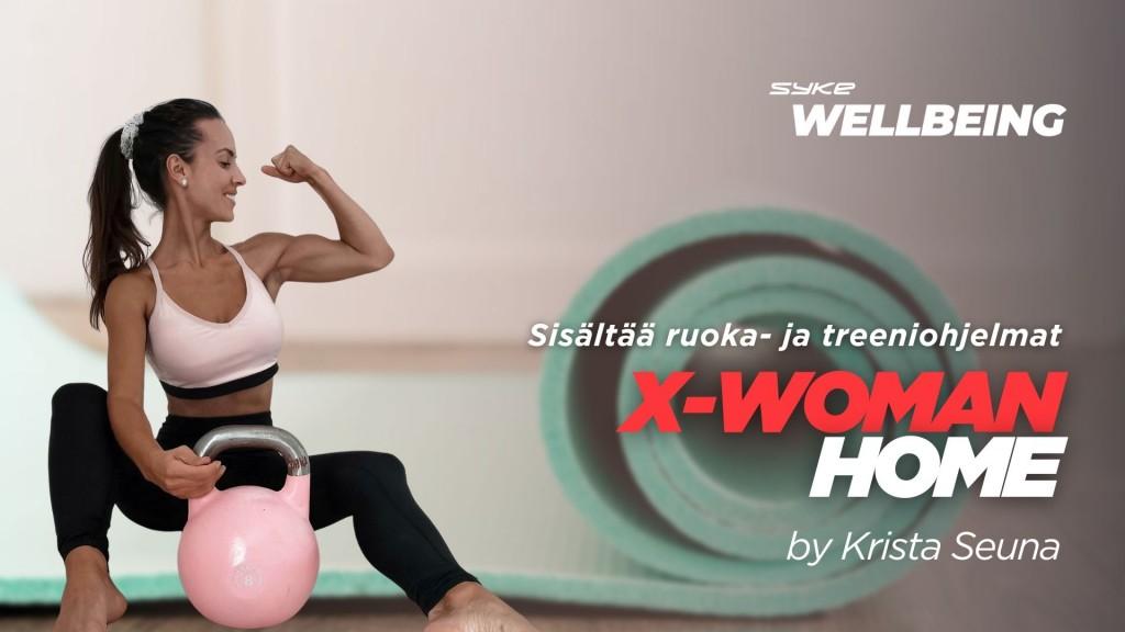 X-WOMAN HOME by Krista Seuna