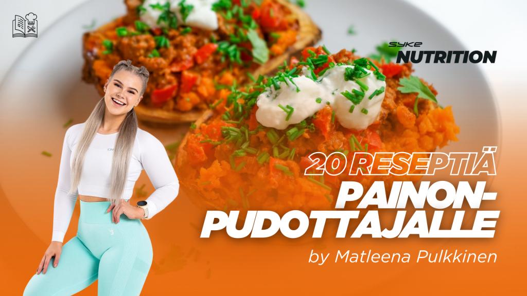 20 reseptiä painonpudottajalle by Matleena Pulkkinen