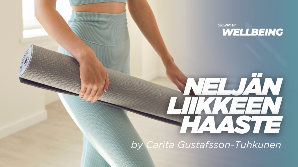 4 liikkeen haaste by Carita Gustafsson-Tuhkunen