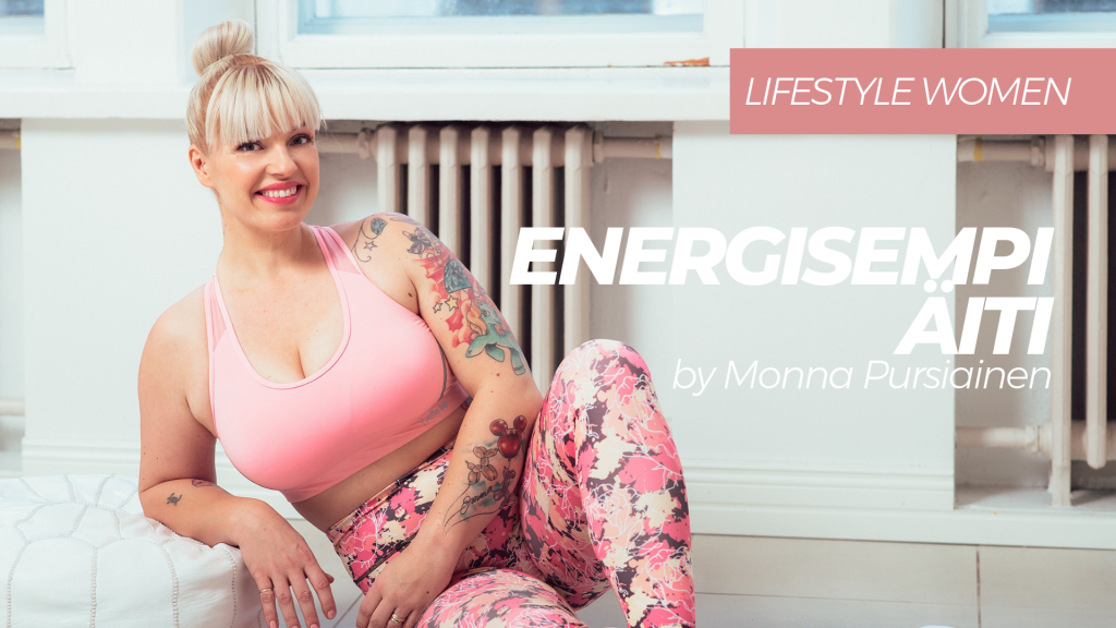 Energisempi äiti by Monna Pursiainen