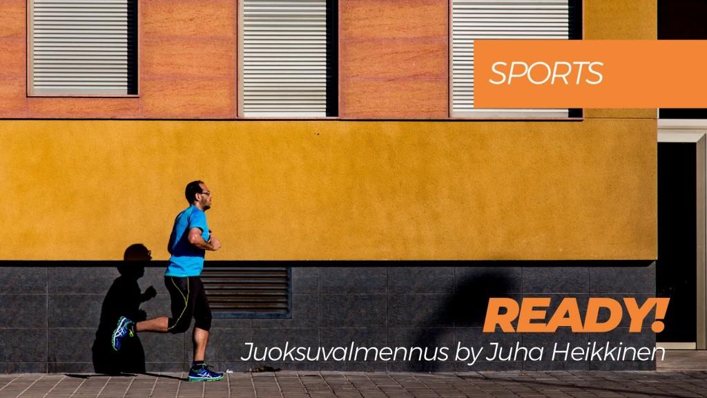READY! -juoksuvalmennus