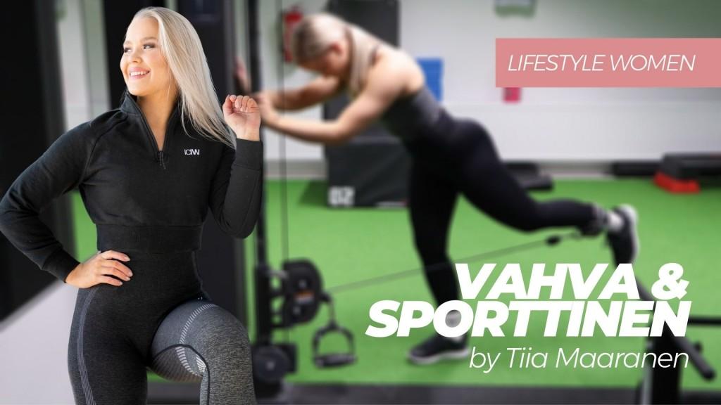 Vahva & sporttinen by Tiia Maaranen