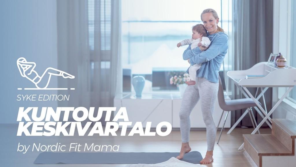 Kuntouta keskivartalo - SYKE edition by Nordic Fit Mama