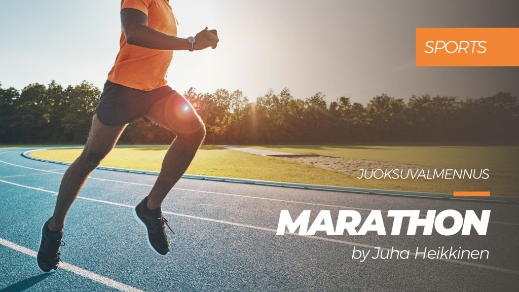 Marathon -juoksuvalmennus by Juha Heikkinen