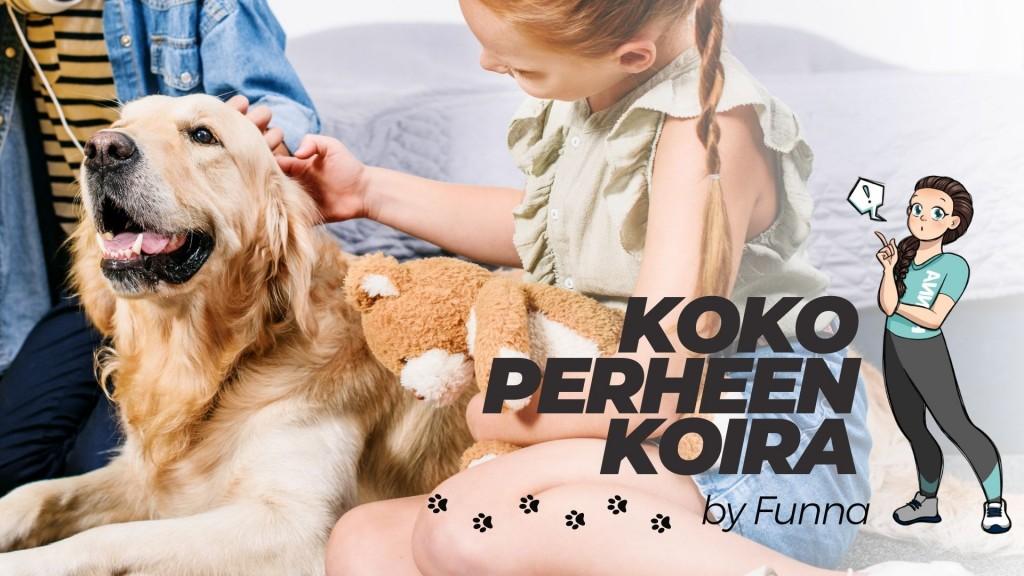 Koko perheen koira by Funna
