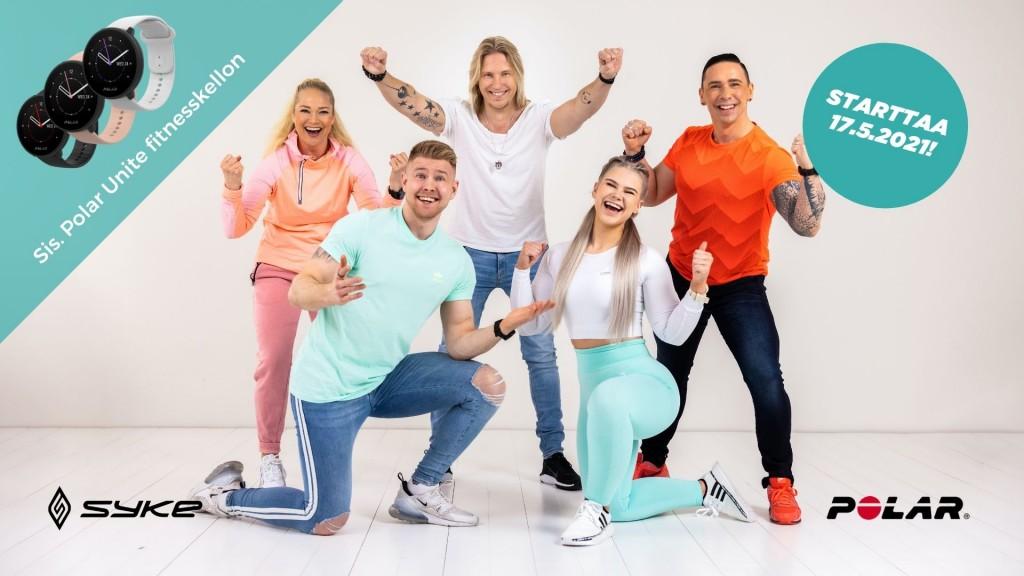 Hyvinvoinnin kutsu + Polar Unite Fitnesskello