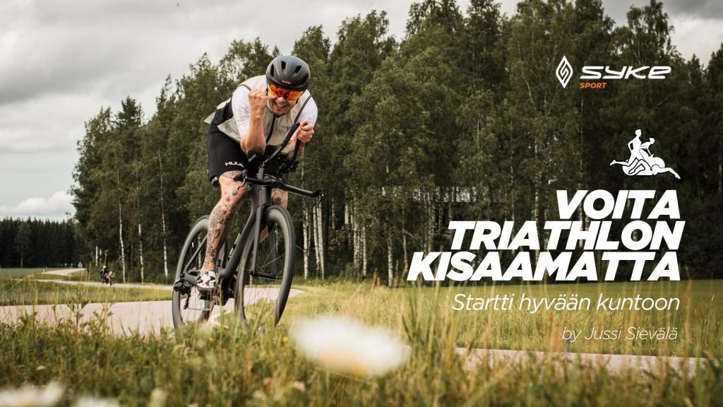 Voita triathlon kisaamatta - startti hyvään kuntoon