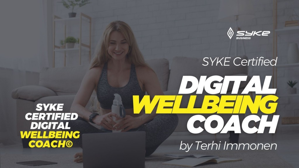 SYKE Certified Digital wellbeing Coach