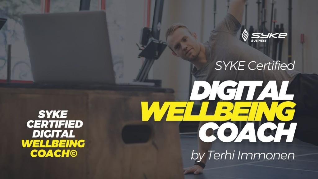 SYKE Certified Digital wellbeing Coach