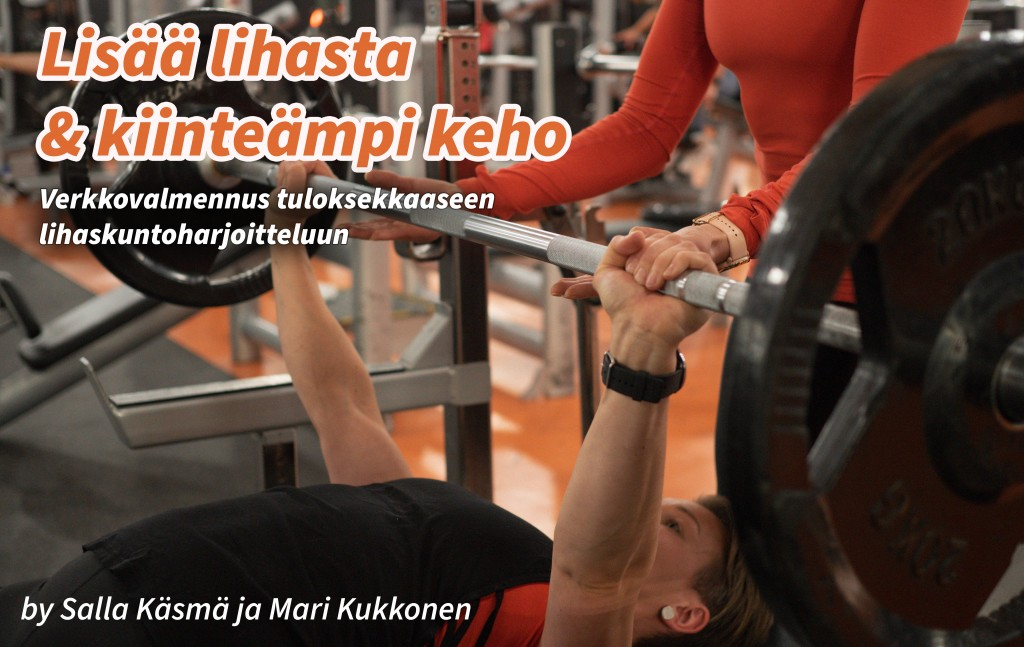 Lisää lihasta &kiinteämpi keho -verkkovalmennus