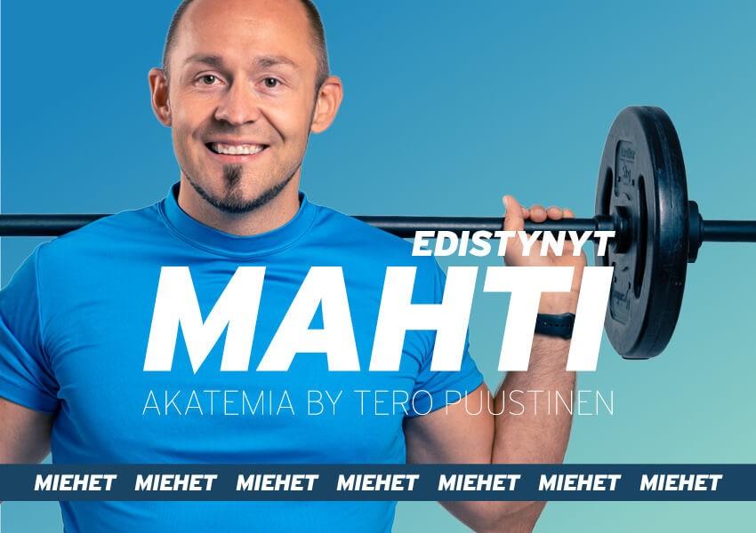 MAHTI akatemia // Edistynyt 8-viikon ohjelma miehille