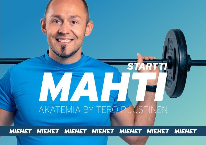 MAHTI akatemia // Startti 8-viikon ohjelma miehille