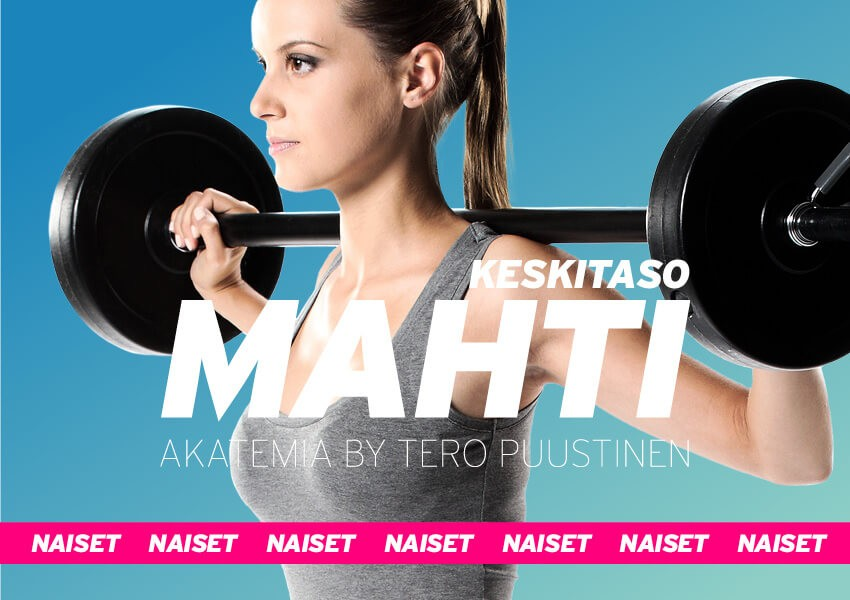 MAHTI akatemia // Keskitaso 8-viikon ohjelma naisille