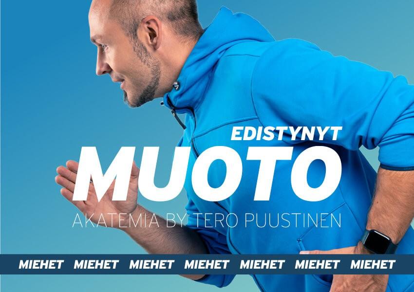 MUOTO akatemia // Edistynyt 8-viikon ohjelma miehille