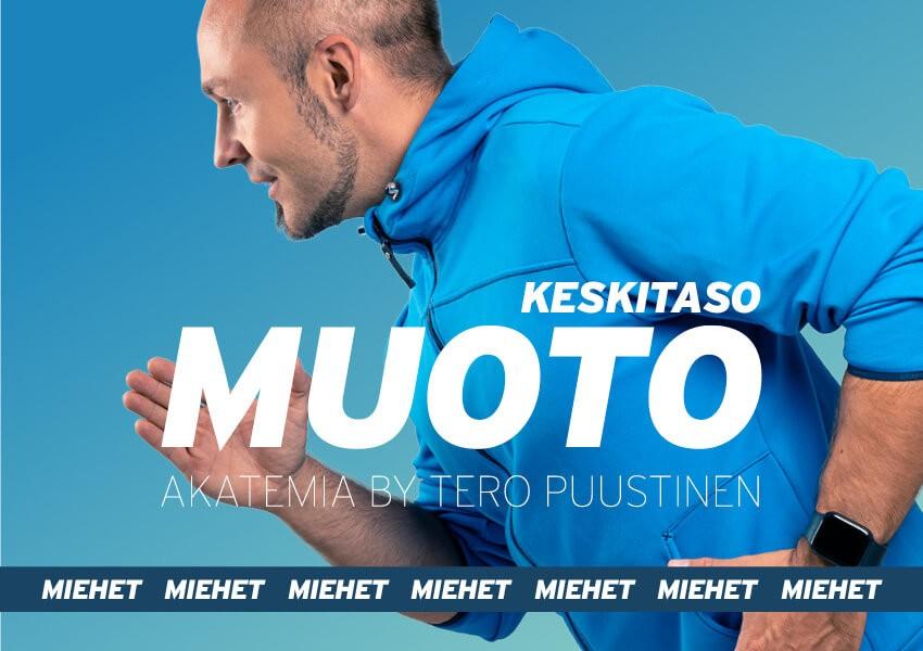 MUOTO akatemia // Keskitaso 8-viikon ohjelma miehille
