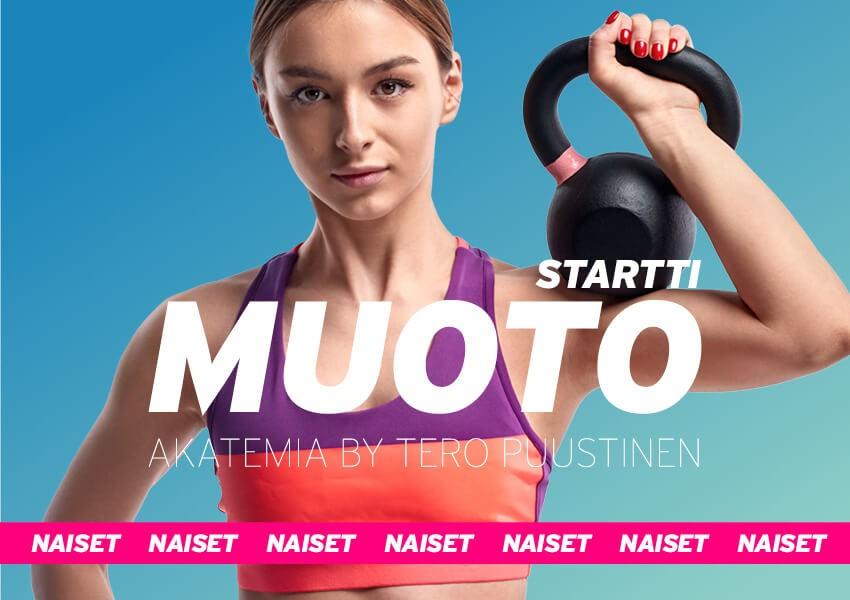 MUOTO akatemia // Startti 8-viikon ohjelma naisille