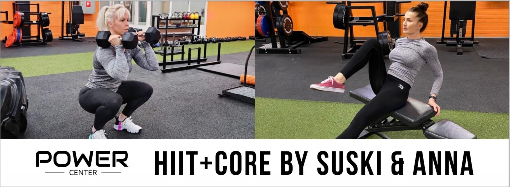 HIIT+Core by Suski&Anna