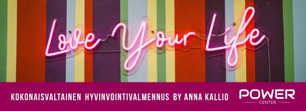 Kokonaisvaltainen hyvinvointivalmennus by Anna Kallio